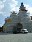 Gerüst mit Planen Rathaus - Merseburg